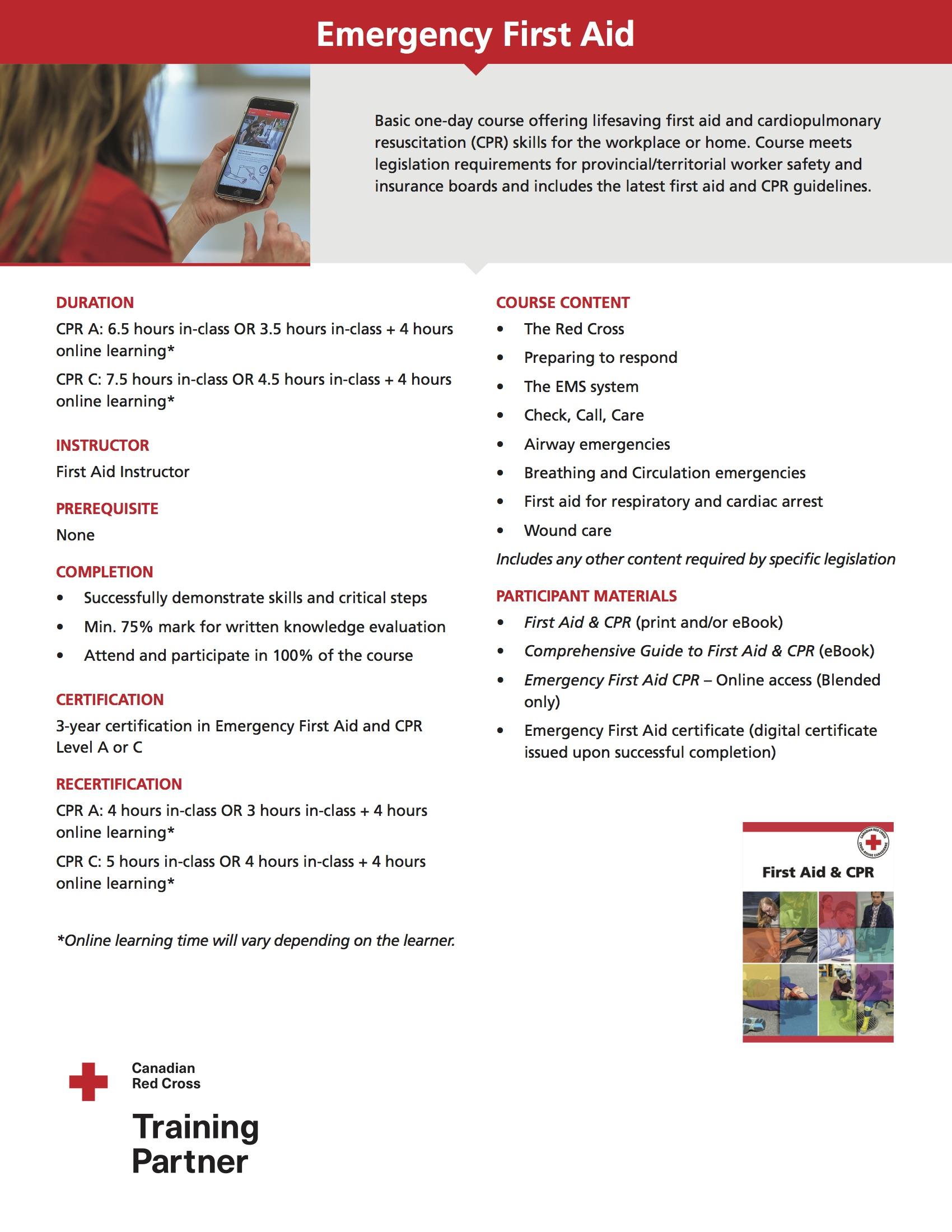 Emergency First Aid Life Skills First Aid