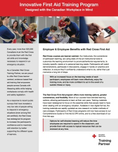 Red Cross LifeSkills First Aid